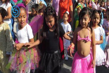 Realizan desfile de la primavera en Tlatenchi
