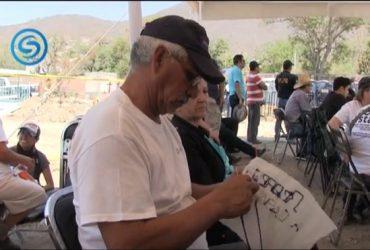 Al panteón de la colonia Pedro Amaro de Jojutla llegaron familiares de desparecidos