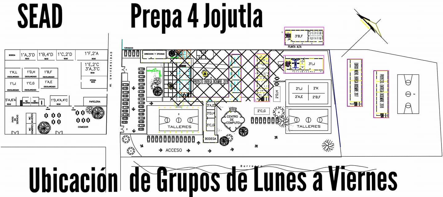 Preparatoria de Jojutla reanudará clases todos los días ambos turnos