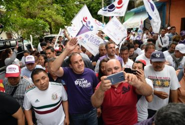 Cuauhtémoc promete reconstruir Morelos tras el sismo