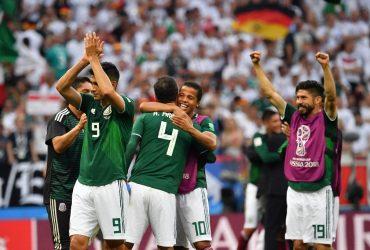 México vence a Alemania en el debut de Rusia 2018