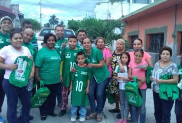 Los candidatos a la diputación local por el XI distrito continúan sus recorridos en Jojutla y Tlaquiltenango