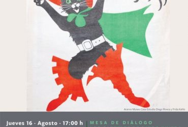 """Mesa de diálogo con el tema """"Los carteles de Diego Rivera"""""""