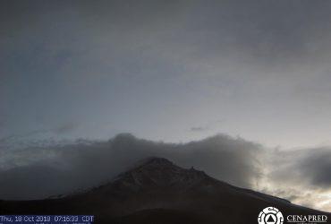 CEPCM  vigila  permanente el Volcán Popocatépetl