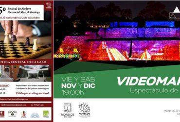 Cine, Teatro y Videomapping para toda la familia en Morelos
