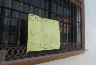 Ofrece edil de Zacatepec que este jueves haya agua. Confía en que le darán prórroga para pagar el adeudo con CFE