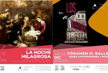 Presenta Centro Cultural Teopanzolco cartelera decembrina
