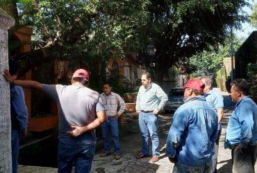 Investigan descarga de aguas negras en Chapultepec