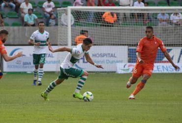 Taborda, motivado por su gol, ya piensa en Venados.