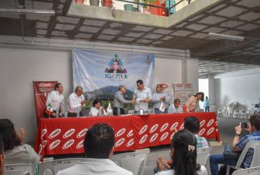 Firman acuerdo ayuntamiento de Jojutla con la Cámara Mexicana de la Industria de la Construcción (CMIC)