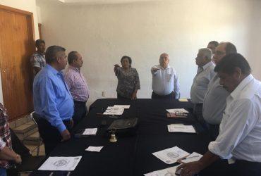 Tomó protesta Refugio Camaño Sol, como administrador del agua po-table de la cabecera municipal de Tlaltizapán