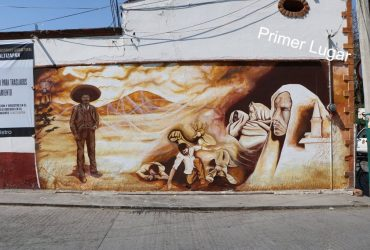 Premian a ganadores de concurso de grafiti en Tlaltizapán. El tema fue Emiliano Zapata
