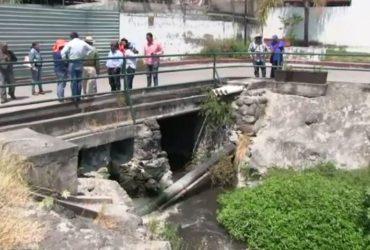 Autoridades inspeccionan estado de drenajes en Jojutla