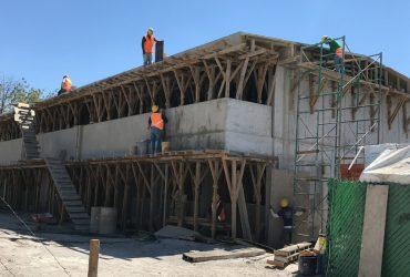 Continúa  reconstrucción de escuelas  en temporada vacacional