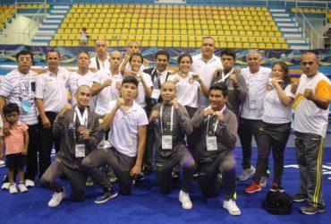 Gana selección morelense de box cinco medallas en olimpiada nacional