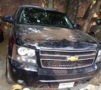 Recuperan dos auto y retro excavadora en Zona Metropolitana