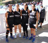Participan morelenses de basquetbol 3×3 en olimpiada nacional 2019