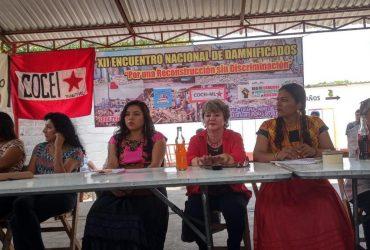 Damnificados del sismo del 19-S piden intervención de AMLO ante la lentitud de la reconstrucción