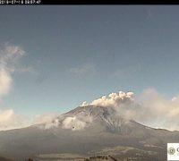 La alerta del Popocatépetl se mantiene en amarillo fase dos