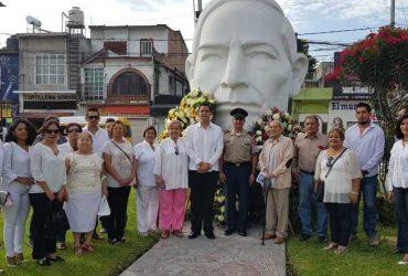 Conmemoran el CXLVII aniversario luctuoso de Benito Juárez en Jojutla