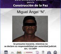 Detienen a un hombre con arma de fuego en Xoxocotla