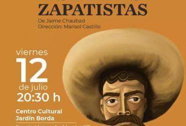 """Presentaran obra de teatro comunitario """"Estampas Zapatistas"""""""