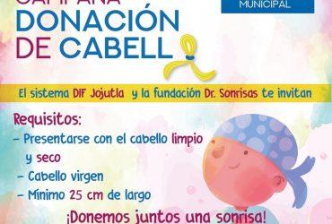 Anuncian campaña de donación de cabello en Jojutla, para hacer pelucas para niños con cáncer