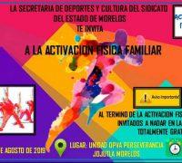 En la perseverancia activación física mañana sábado
