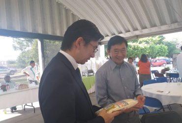 Investigador japonés regresa al INIFAP Zacatepec después de 30 años. Reconoce calidad del arroz Morelos