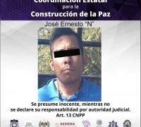 Detienen a hombre con vehículo robado en Xochitepec