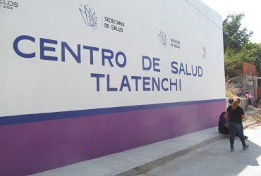 Tras dos años de trabajar de manera inadecuada, reinauguran el centro de salud de Tlatenchi