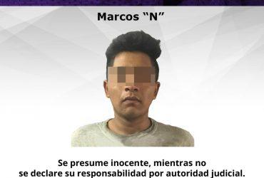 Joven poseía droga y arma blanca siendo vinculado el vecino de Tlaltizapán