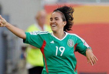 La seleccionada mexicana Mónica Ocampo sigue en rehabilitación por operación de meniscos