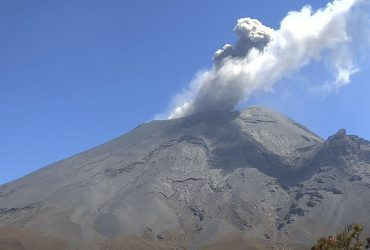 Reporte monitoreo del volcán Popocatépetl
