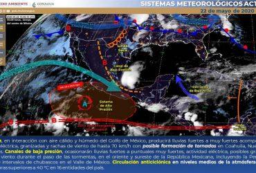 Pronostican tiempo mayormente estable durante el fin de semana en Morelos
