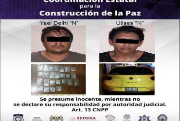 Dos hombres son detenidos por delitos contra la salud
