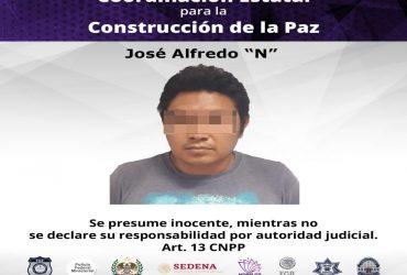 Un hombre es procesado por el delito de robo de una maquinaria pesada.