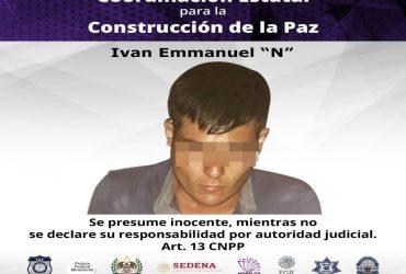 Prisión preventiva en contra de un hombre por el delito de robo en Jiutepec.