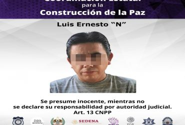"""Durante cateo en Yautepec es detenido """"El Tetos"""" por delitos contra la salud. En el lugar aseguraron armas y varias dosis de distintas drogas."""