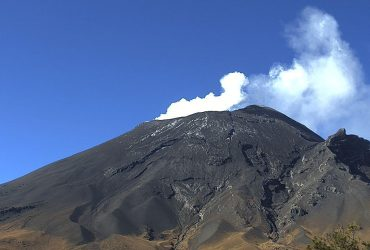 Viernes 07 de agosto de 2020: el semáforo de alerta volcánica del Popocatépetl se encuentra en amarillo fase 2.