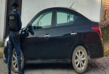 Son recuperados tres vehículos con reporte de robo en los municipios de Cuernavaca y Yautepec