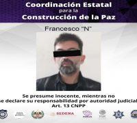 Un hombre es detenido en Xochitepec por el delito de violencia familiar y/o lo que resulte.