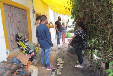 Ayuntamiento de Jojutla donará material para que  afectados por las lluvias en la colonia Zapata, levanten muro de contención