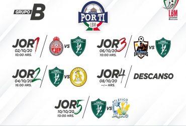 Ya hay fecha y horario para el torneo que disputara el equipo morelense ''Lobos Zacatepec''.