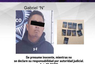 Detienen a dos hombres con droga en el municipio de Temixco