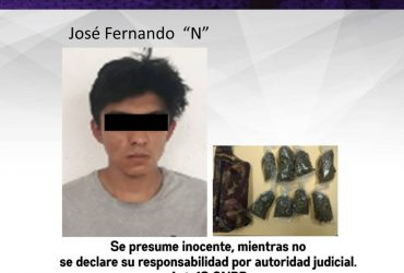 Detienen a un hombre por delitos contra la salud en Zacatepec