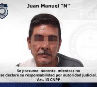 Aprehenden en Cuautla a hombre investigado por el delito de extorsión