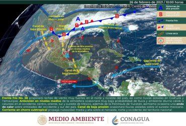 Persistirá tiempo estable durante el fin de semana en Morelos
