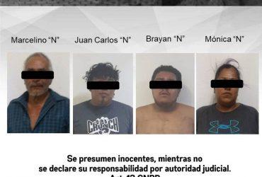 Son detenidas  cuatro personas por posesión de vehículo con reporte de robo