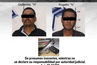 Detienen a dos hombres por tentativa de homicidio en Cuernavaca